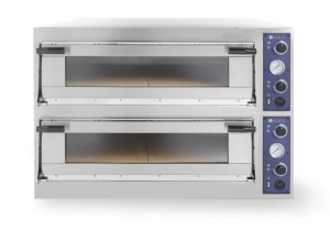 Piec do pizzy Trays 66 Glass, 2-komorowy, 400V, 20,4 kW, 1100x1314x(H)745