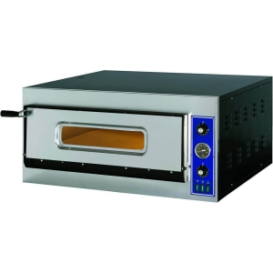 Piec do pizzy 1-komorowy | E-Start Line | 4x32 cm | 400V | 4,2 kW |