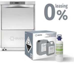 Zmywarka uniwersalna | kosz 500x500 | 400V | 600x610x850mm | Optima 500 HR | leasing 0% | gratisy