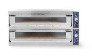 Piec do pizzy Trays  66L Glass, 2-komorowy, 400V, 20,4 kW, 1500x1074x(H)745 mm