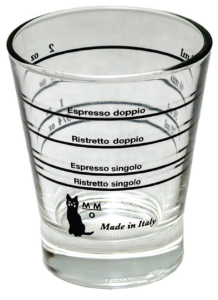 Miarka do espresso - kieliszek 60ml  - Shot Glass