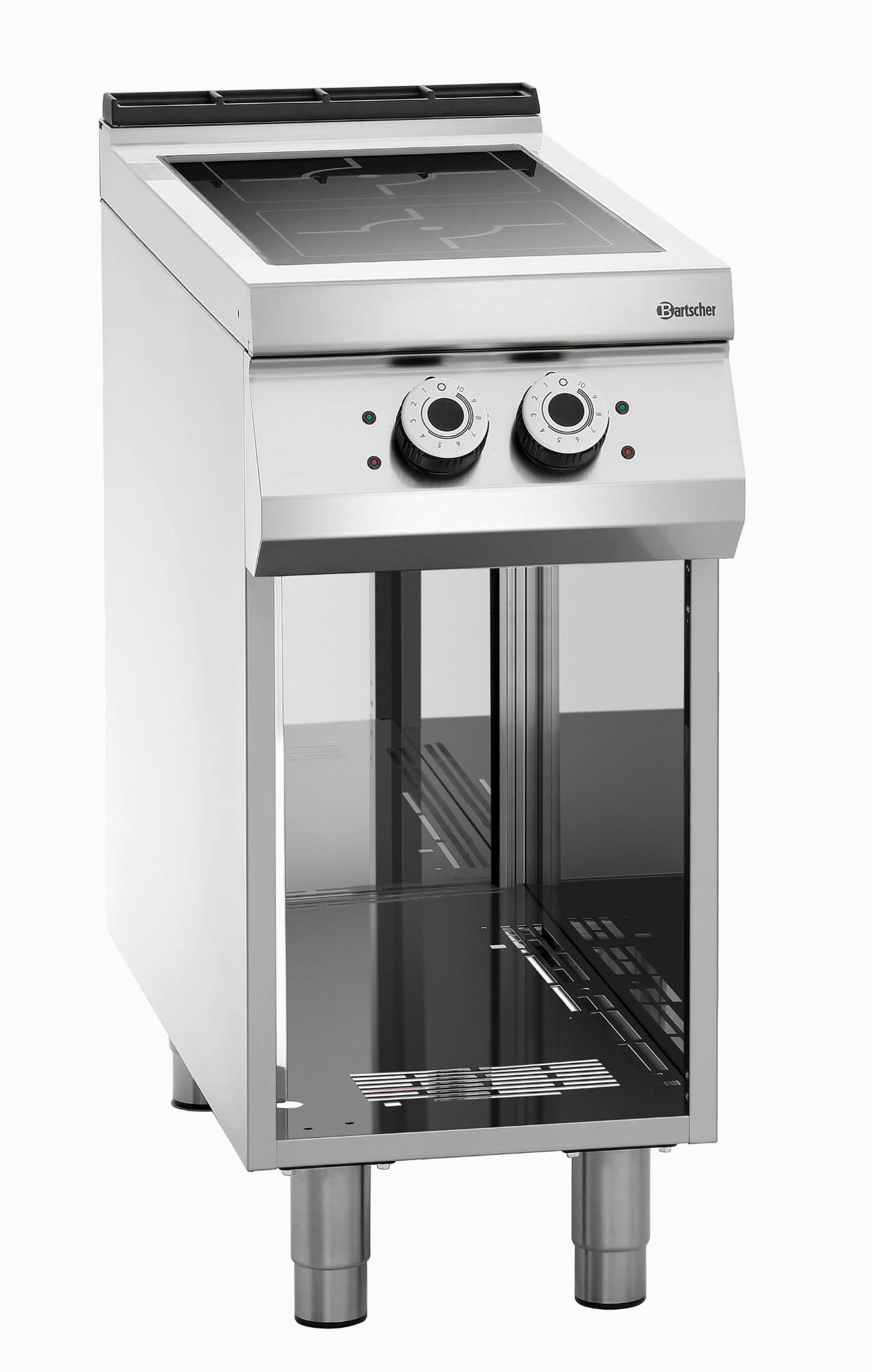 Kuchnia Indukcyjna Podstawa Otwarta 2 Palniki 2x5 Kw 400v