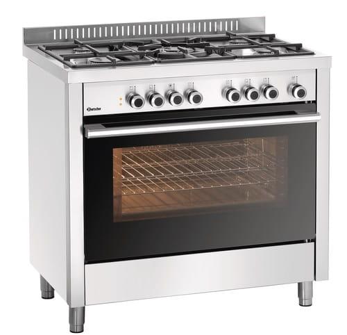Kuchnia Gazowa Bgh 600 520 5 Palnikowa Z Piekarnikiem Elektrycznym Z Grillem I 113 Kw I 900x600x900mm